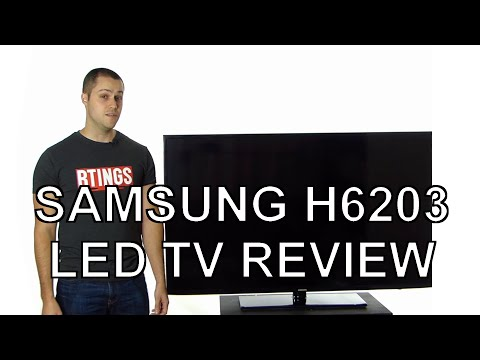 Samsung H6203 LED TV Review