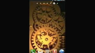Gold Time Machine LWP YouTube video