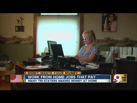 Work from home jobs that pay