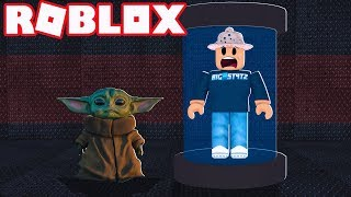 BABY YODA JOINS MY GAME! (Roblox Flee The Facility)