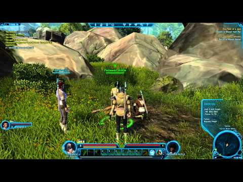 Star Wars: The Old Republic Tutorial/Let's Play - Episode 4 - Flesh Raiders?