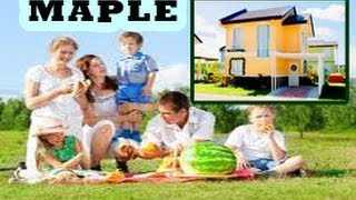 Carmona Philippines  city images : MAPLE (Dressed Up) - CARMONA ESTATES HOUSE AND LOT, CAVITE, PHILIPPINES