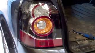 How To Upgrade Freelander 2 / LR2 To New  Type LED Rear Lights