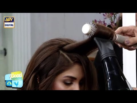 Hairdresser - How to blow dry your hair properly