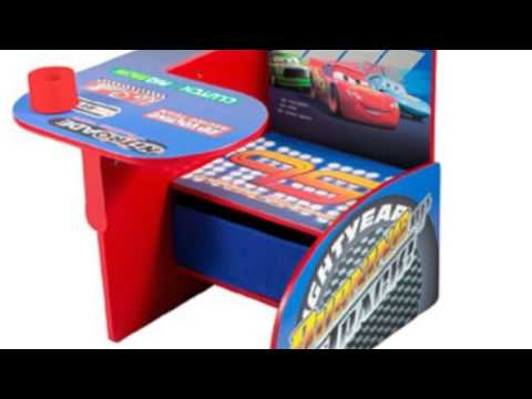 Video Disney Cars Chair Desk With Pull Out now online at YouTube