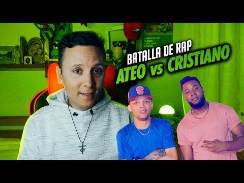 CRISTIANO vs ATEO rap | Sacerdote reacciona (Phillipe Vs Zodiaco)