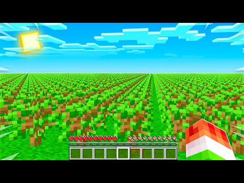 PLANTING 20 MILLION TREES IN MINECRAFT...
