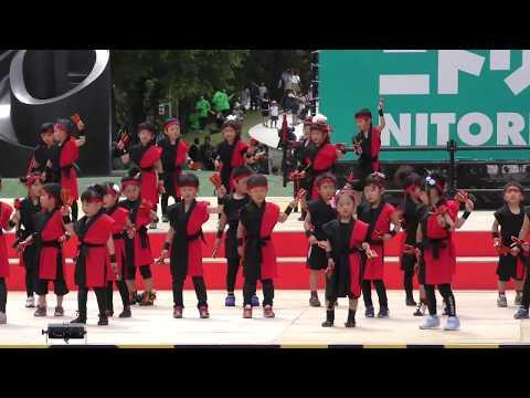 【4K】平和幼稚園年長組☆2018 inよさこいソーラン2018.6.10