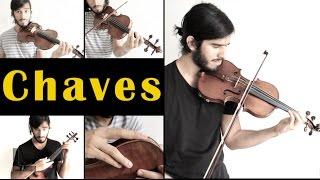 -Que bonita sua roupa-Chaves triste (clássica/rock) Se gostarem e quiserem outras do Chaves, só dizer nos comentários que eu faço outro vídeo depois ;)Violino elétrico plugado numa Roland GR-55.