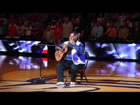 Gabriel Ayala performs the National Anthem (Star Spangled Banner)