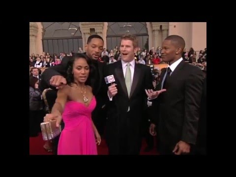 Jamie Kaler interviews Will, Jada, and Jamie Foxx