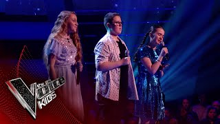 Phoebe, Ella and Daniel Perform 'This Is Me': Battles 1 | The Voice Kids UK 2018