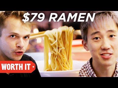 $3 Ramen Vs. $79 Ramen • Japan (видео)