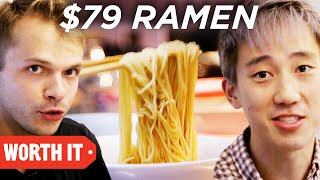 Video $3 Ramen Vs. $79 Ramen • Japan MP3, 3GP, MP4, WEBM, AVI, FLV November 2017