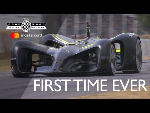 Watch a selfdriving car complete Goodwood s legendary hill