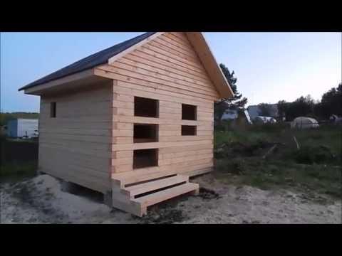 Строительство бани  от а до я видео