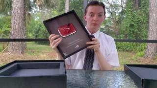 Video Youtube Silver Play Button Unboxing Review + Thank You MP3, 3GP, MP4, WEBM, AVI, FLV Juni 2018