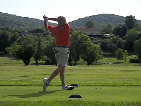 casio ex fc100 - Driver swing in slow motion.