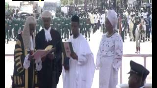 Vice-President Yemi Osinbajo takes oath of office