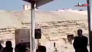 وزير الآثار يعلن عن كشف أثرى جديد بجبانة سقارة