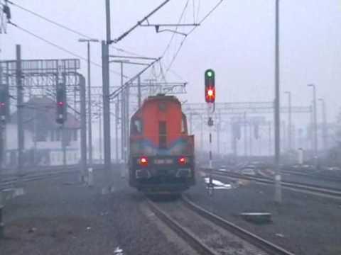 Lokomotywa serii S200-301 prywatnego przewoźnika
