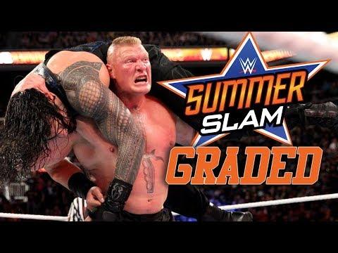 WWE SummerSlam 2018: GRADED