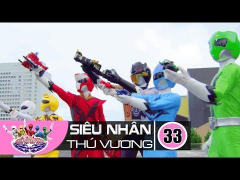 Siêu Nhân Chiến Đội Thú Vương Zyuohger TẬP 33: Thú Vương Kết Liễu - Thời lượng: 23 phút.