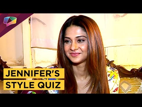 Jennifer Winget Takes Up The Style Quiz