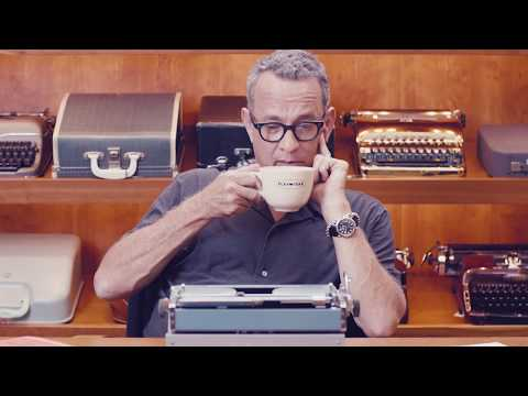 "Tom Hanks and his new book, ""Uncommon Type"""