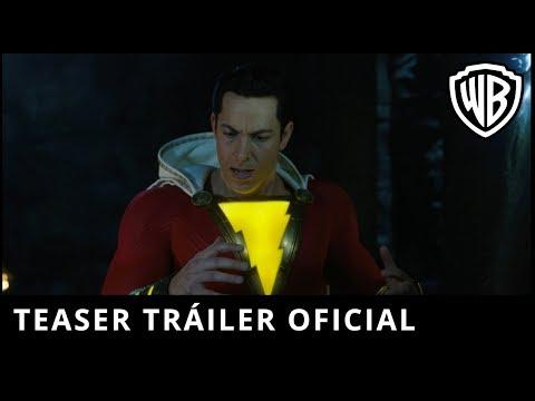 ¡Shazam! - Teaser Tráiler Oficial?>