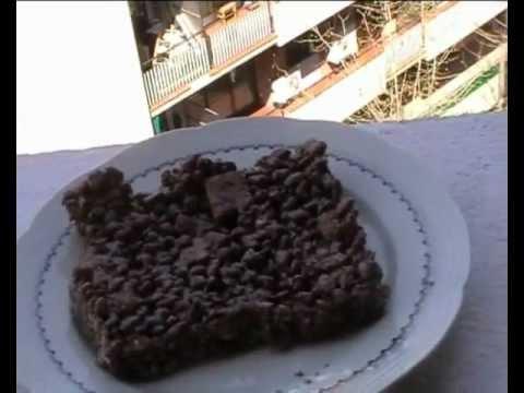 ricetta - torta dura con caramello e cioccolata!