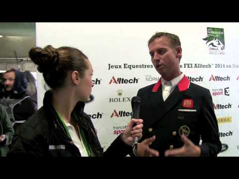 WEG dressage grand prix: Carl Hester talks to H&H [VIDEO]