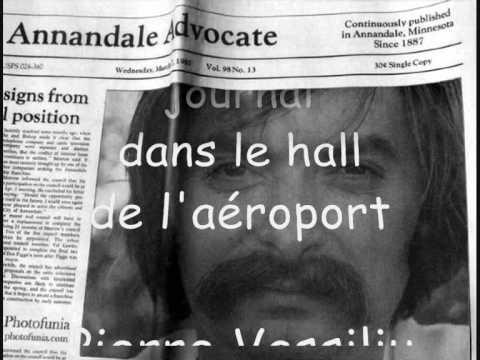 PIERRE VASSILIU - J'AI TROUVE UN JOURNAL DANS LE HALL DE L'AEROPORT