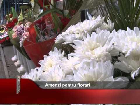 Amenzi pentru florari