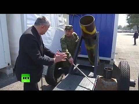 Российским депутатам показали оружие боевиков в музее на авиабазе Хмеймим - DomaVideo.Ru