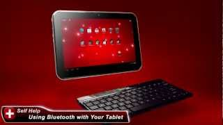 Toshiba How-To: Connect A Bluetooth® Keyboard To A Toshiba Excite Tablet Powered By Android 4.0