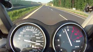 5. BMW K1200RS TOP SPEED