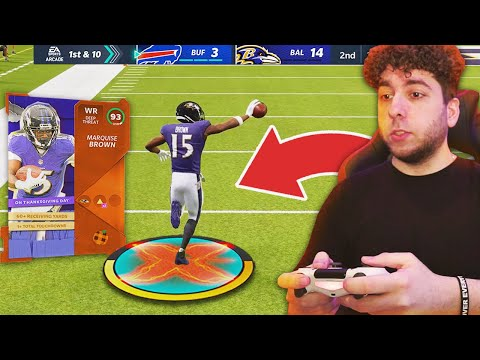"MARQUISE ""HOLLYWOOD"" BROWN IS NASTY! Madden 21 No Money Spent Ep.6"