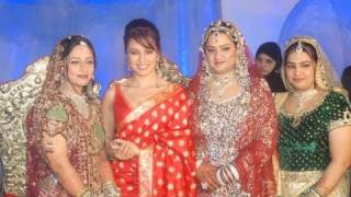 Mugdha Godse And Mahima Chaudary At A Grand Wedding Reception