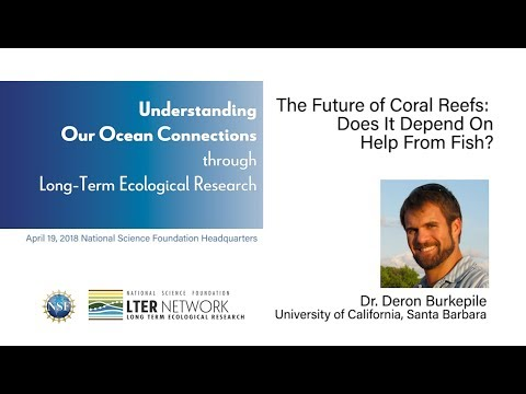 NSF-LTER 2018 Symposium - Deron Burkepile: Does the Future of Coral Reefs Depend on Help from Fish?