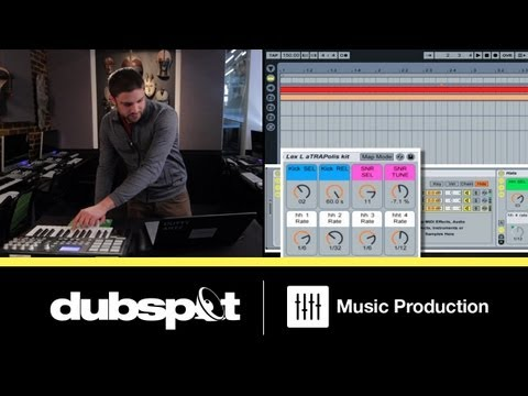 Ableton Live Tutorial: Trap – How to Build an Instrument Rack for Drum Programming