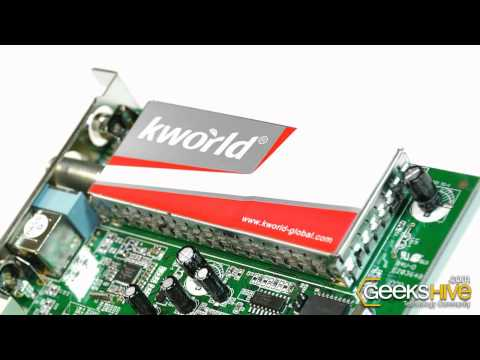 Placa PCI sintonizadora de TV y FM KWorld PVR-TV 7134SE - review by www.geekshive.com (Español)