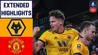 Video Dominant Wolves' Display Sends United Out! | Wolves 2-1 Manchester United | Emirates FA Cup 18/19 MP3, 3GP, MP4, WEBM, AVI, FLV Maret 2019