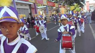 Parepare Indonesia  city pictures gallery : Drumband SDN 3 Unggulan Parepare dalam rangka memeriahkan Hari kemerdekaan Indonesia ke 71.. PART 2