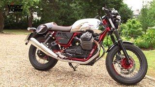4. Moto Guzzi V7 II Racer review | Visordown Road Test