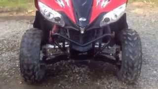 2. 2014 Arctic Cat XC 450 Walkaround, Startup & Performance