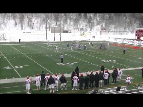 MLAX: Goucher Pulls Out Last Minute Victory at King's - 3/7/15