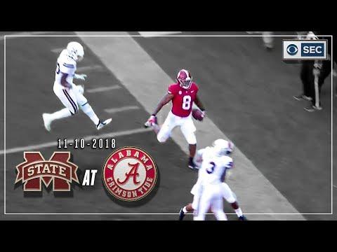 Video: Mississippi St. vs. Alabama: Tide Defense Pitches Shutout