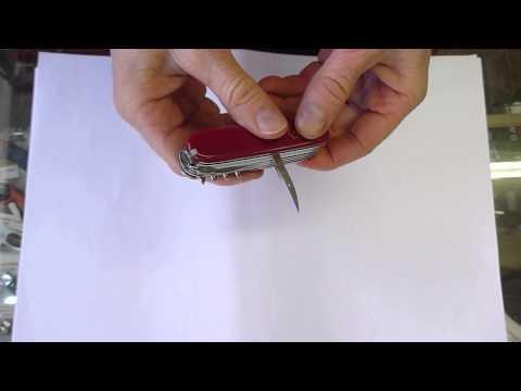 Victorinox Handyman Swiss army knife tools quick presentation