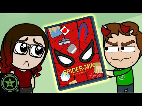 Tom Holland Signed Spider-Man Poster Prank - AH Animated